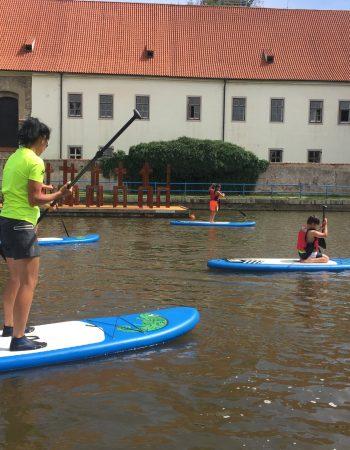 Krumlov na paddleboardu